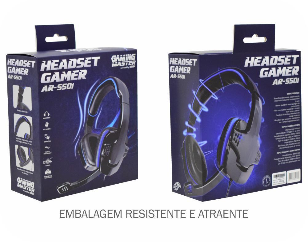Headset Gamer Kmex AR-S501