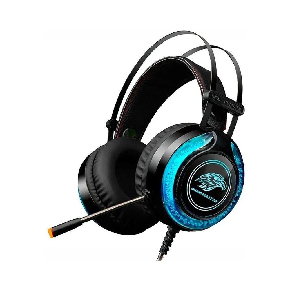 Headset Gamer LED RGB Kmex ARS930 Preto