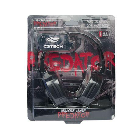 Headset Gamer Predator C3TECH ml2558rb
