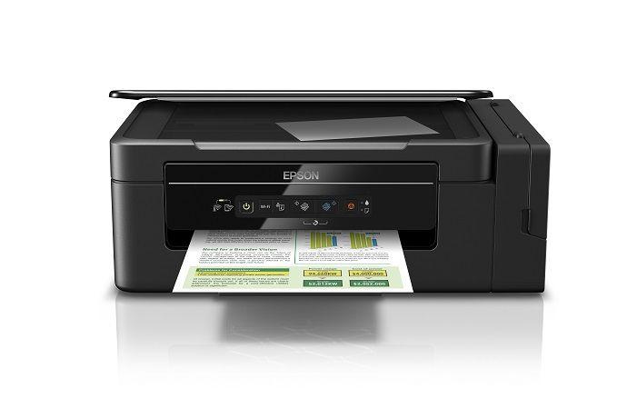 Impressora Multifuncional Deskjet Eco Tank Epson L396