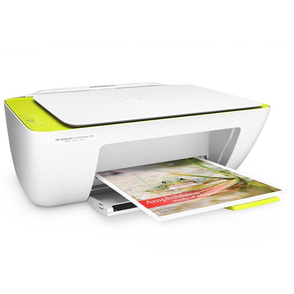 Impressora Multifuncional Deskjet Ink Advantage HP 2136