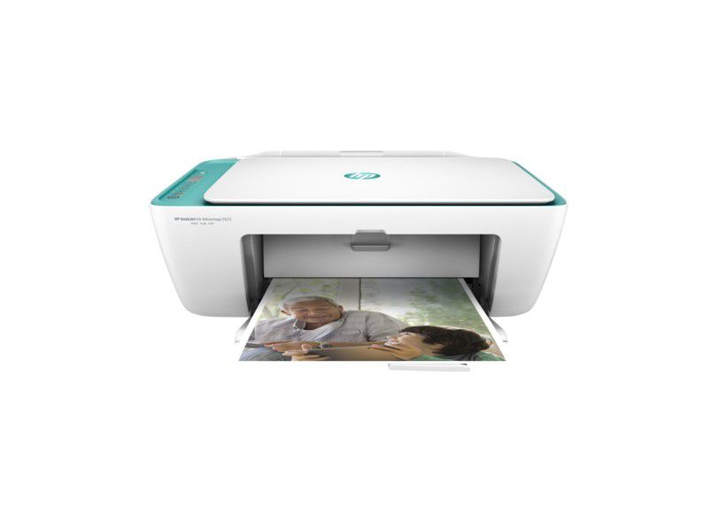 Impressora Multifuncional HP Deskjet Advantage 2676 Wireless