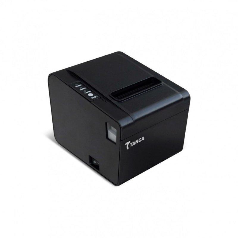Impressora Térmica Não Fiscal Tanca TP-650 Serrilha e Guilhotina Usb Serial Ethernet