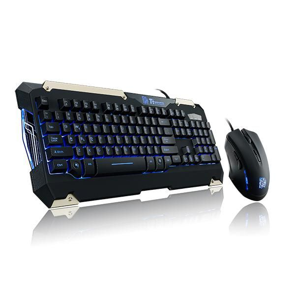 KIT MOUSE E TECLADO GAMER COMANDER THERMALTAKE KB-CMC-PLBPB-01