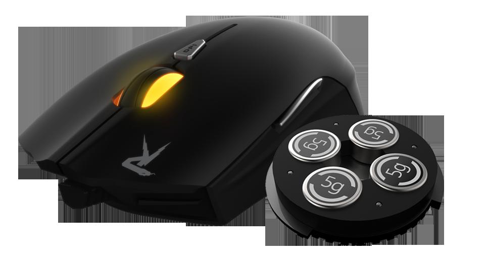 Kit Mouse e Teclado Gamer Usb Semi Mecânico Gamdias gkc6011