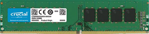 MEMÓRIA 8GB DDR4 2400MHZ CRUCIAL