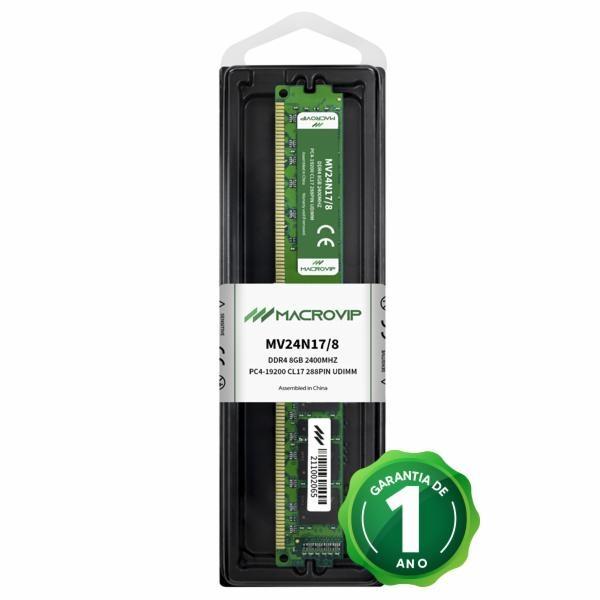 Memória 8GB Ddr4 2666Mhz Macrovip Mv24n17/8