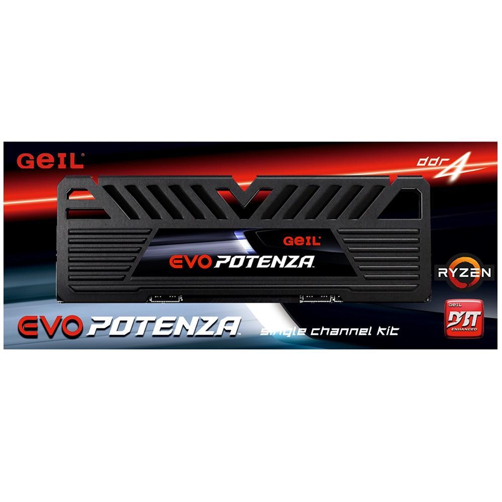 Memória Gamer Evo Potenza 8GB Ddr4 2400Mhz Geil