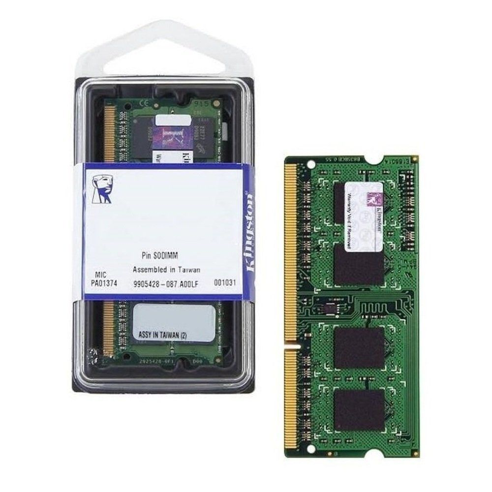 Memória p/ Notebook 8Gb Ddr4 Micron 2666Mhz Kvr26s19s8/8