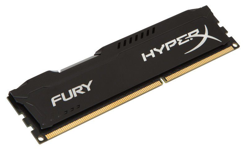 Memória RAM 8GB Hyper Black Fury ddr3 1600Mhz Kingston