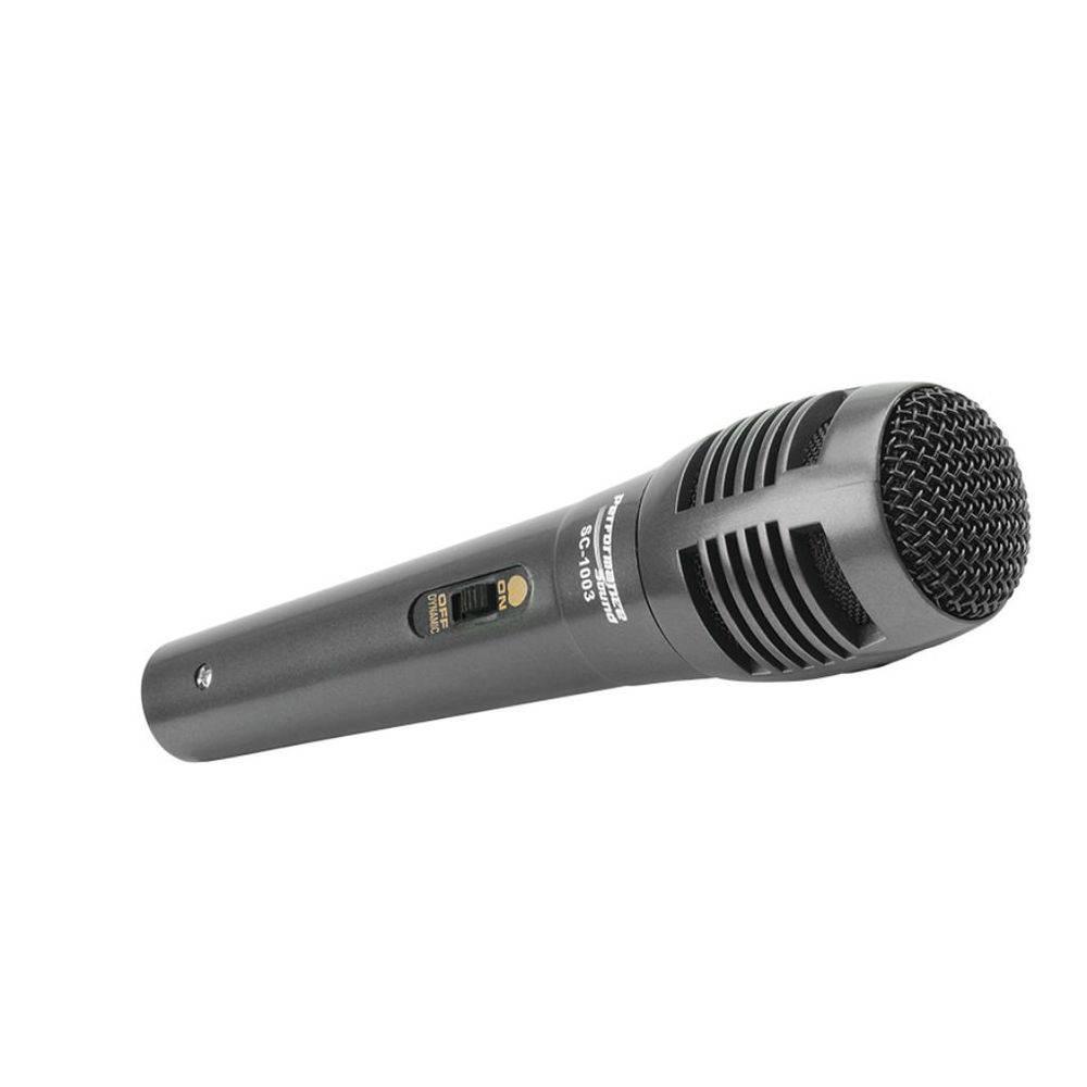 Microfone c/ Fio Perfomance Sound sc-1003