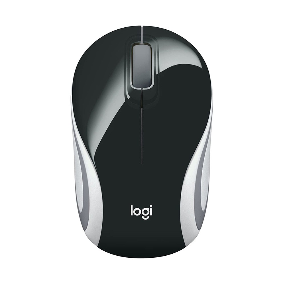 Mini Mouse Usb Logitech M187 Preto