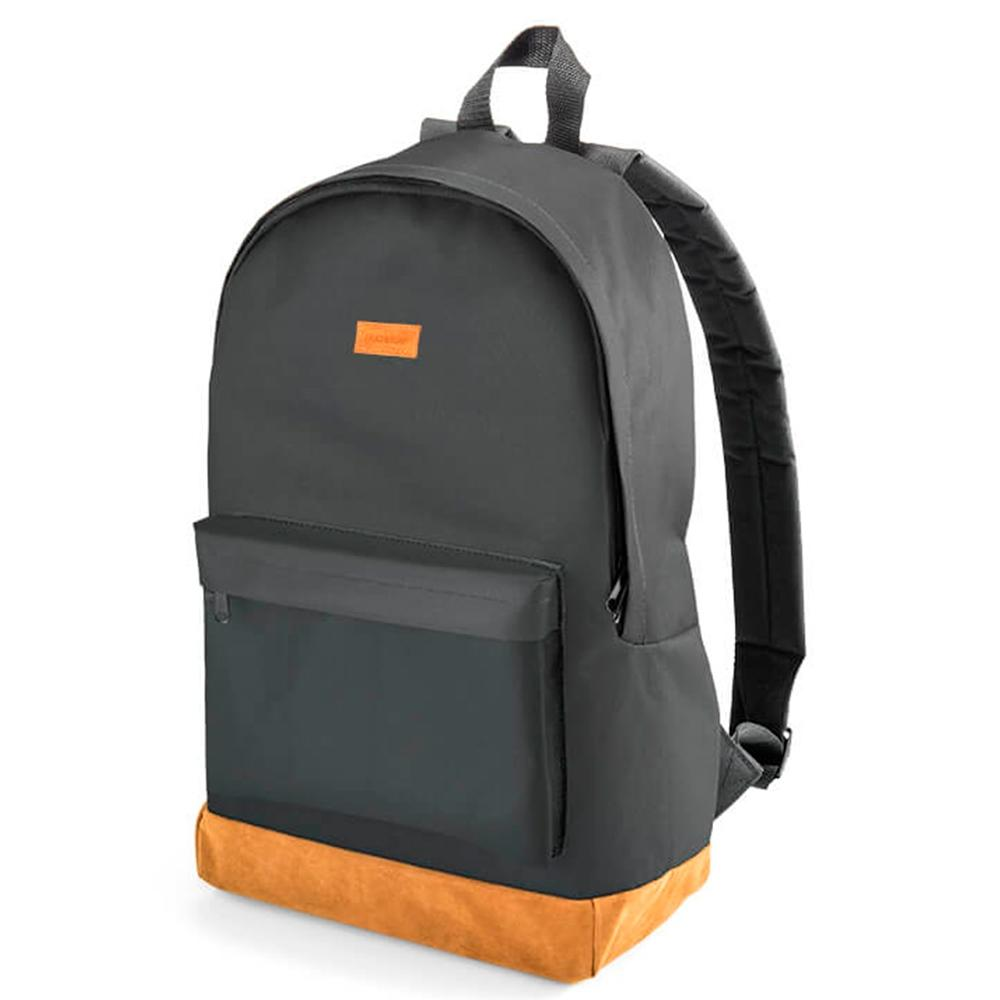 "Mochila Multilaser Backpack Preta e Marrom 15.6"" Bo407"
