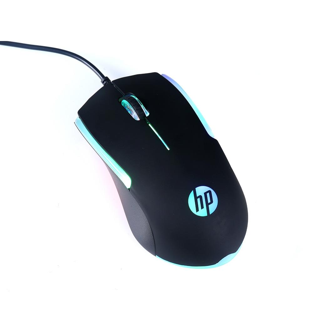 Mouse Óptico Gamer HP Usb M160 Preto