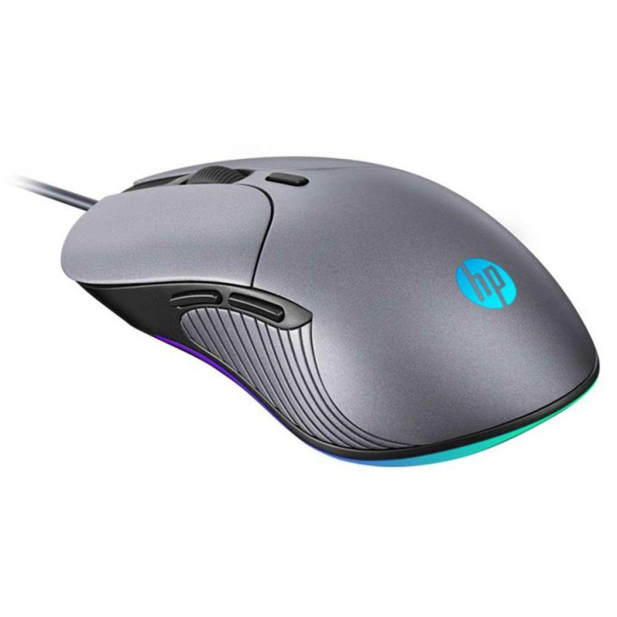 Mouse Óptico Gamer HP Usb M280 Chumbo