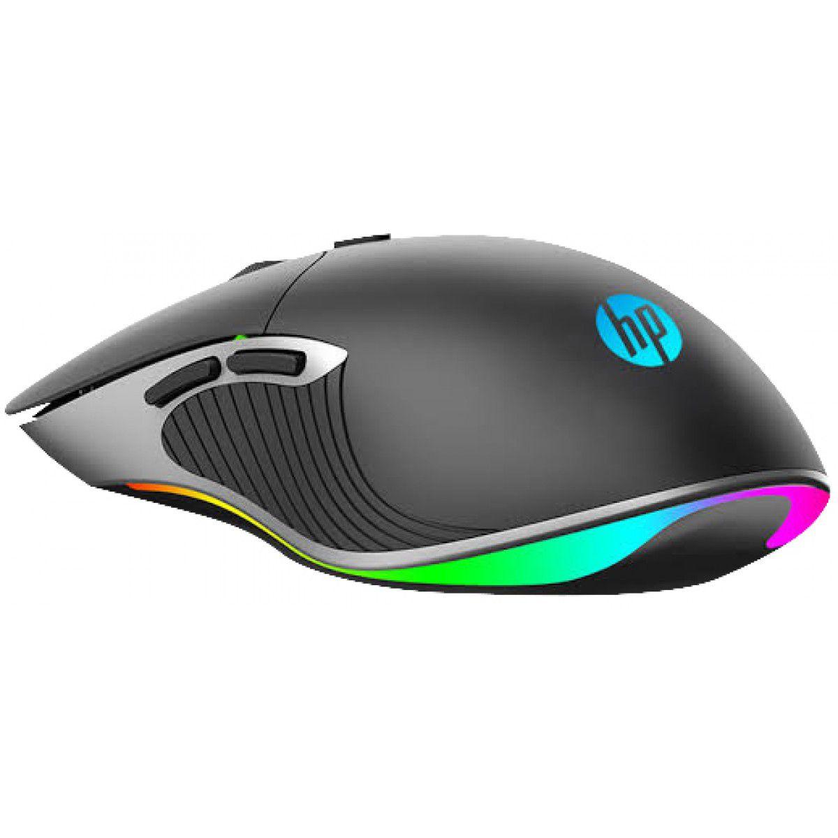 Mouse Óptico Gamer HP Usb M280 Preto