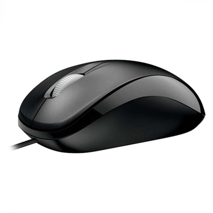Mouse Óptico Microsoft Compact 500 Usb U81-00010 Preto