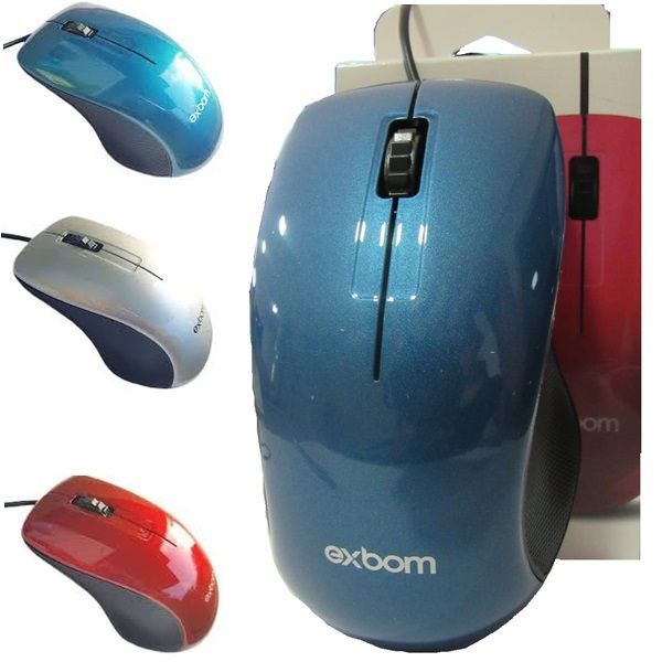 Mouse USB 3D 1000dpi EXBOM MS-47 MOUSE
