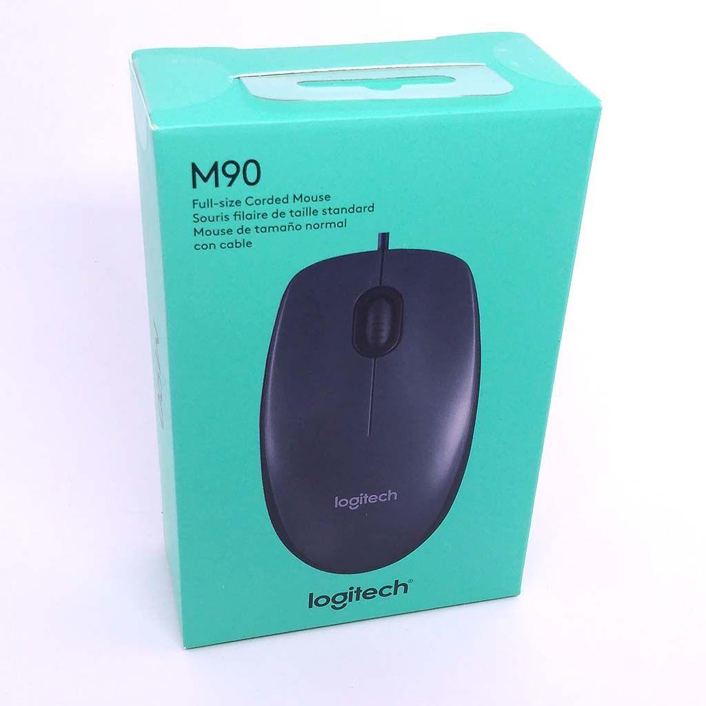 Mouse Usb Logitech m90 PRETO