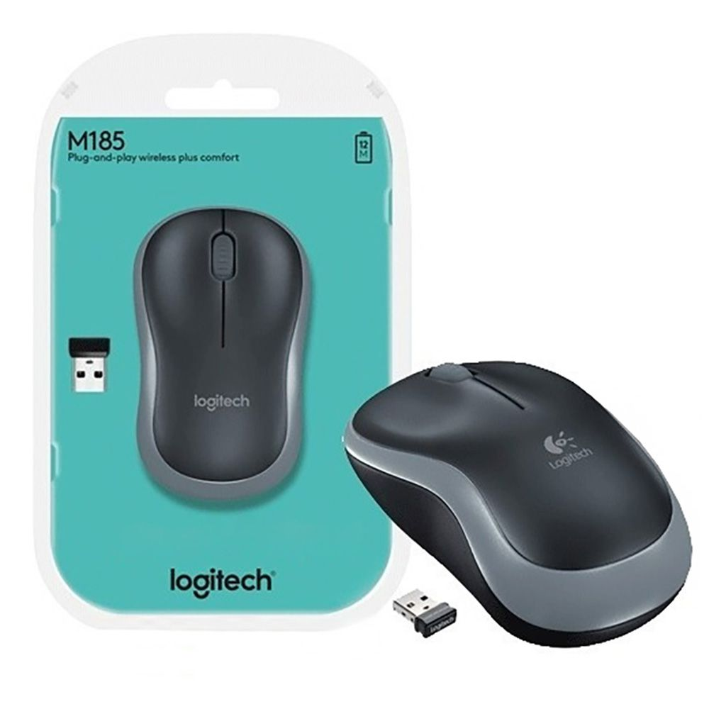 Mouse Wireless Logitech M185
