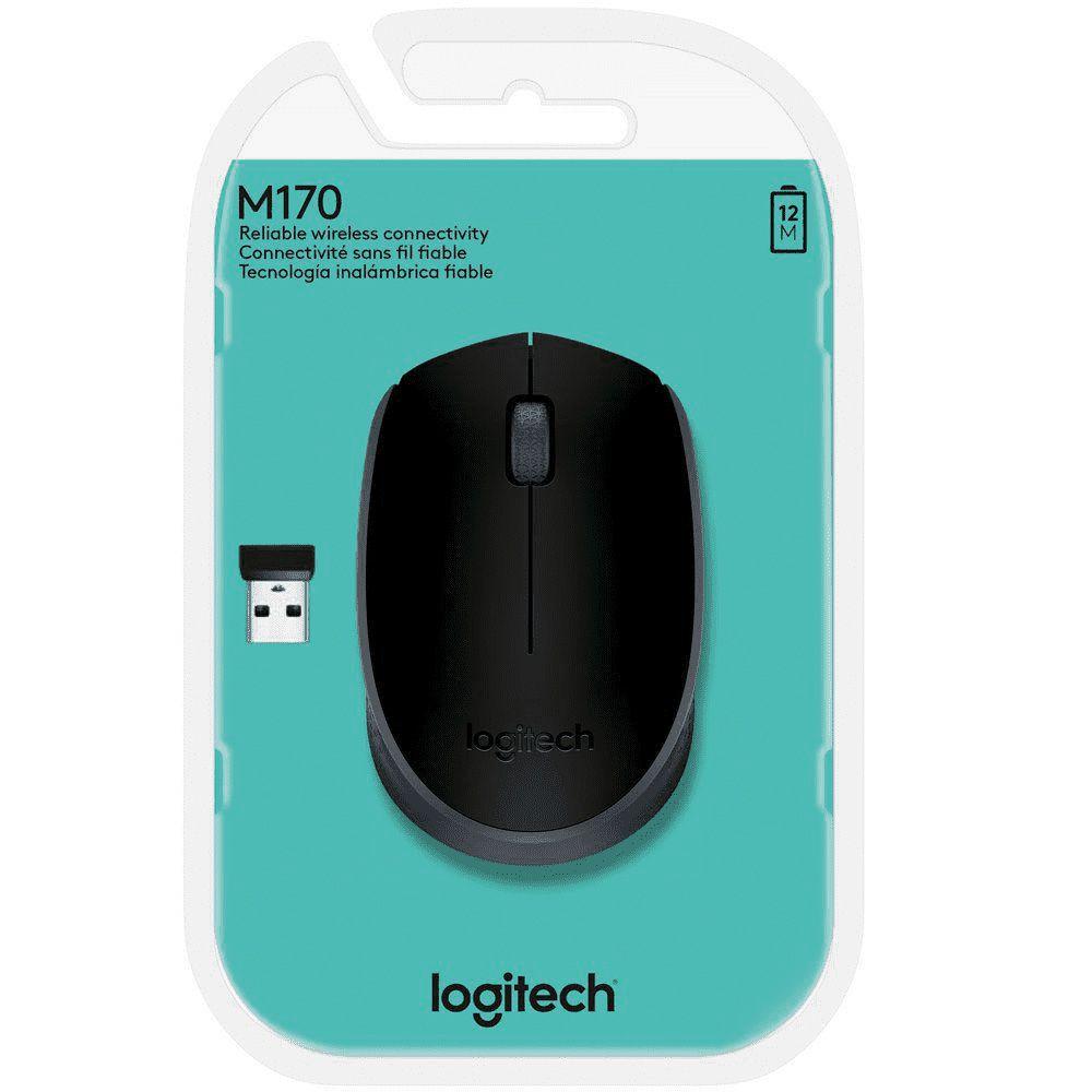 Mouse Wireless M170 Logitech