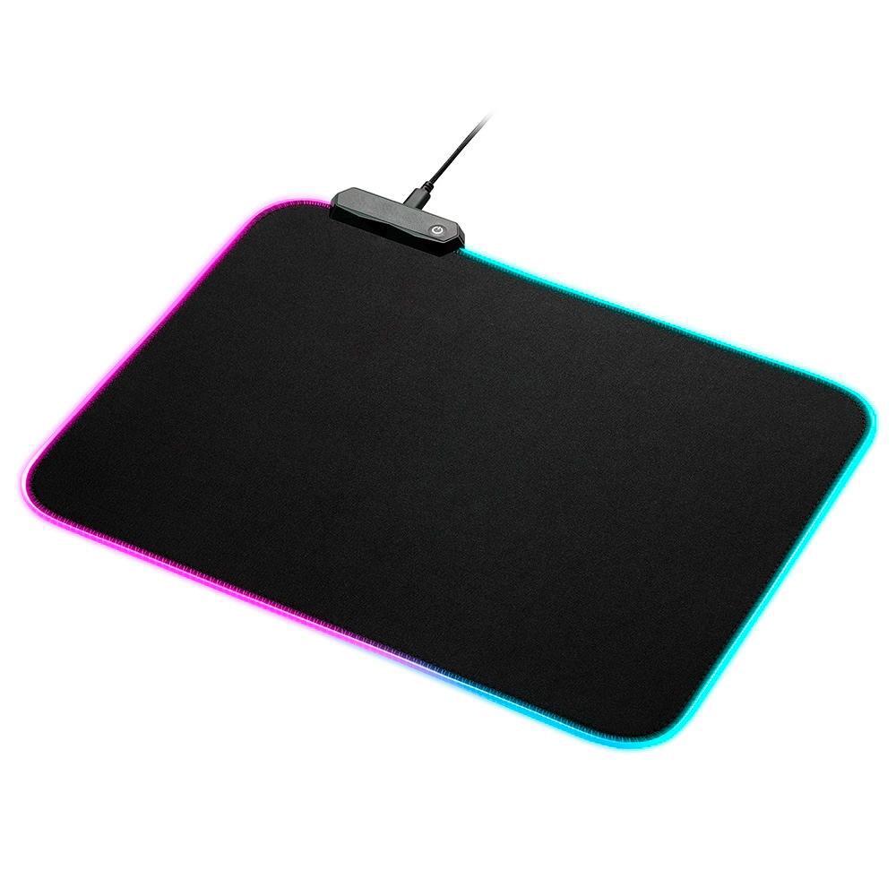 Mousepad Gamer RGB Knup 350x250mm Kp-s012