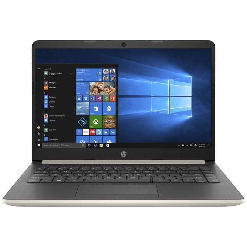 Notebook HP 14-dk0028wm AMD Ryzen 3 3200U 2,6Ghz 4Gb Ssd 128GB 14""