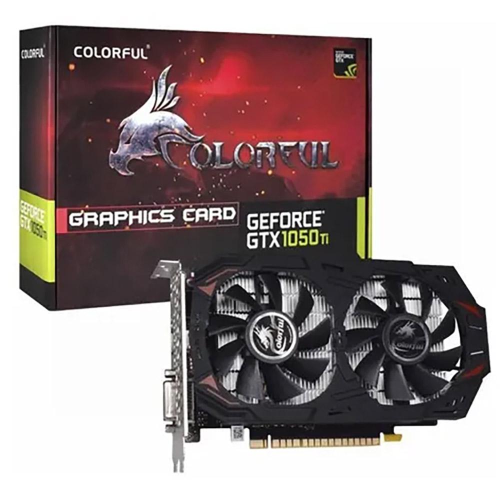 Placa de Vídeo Colorful GTX 1050ti 4GB GDDR5