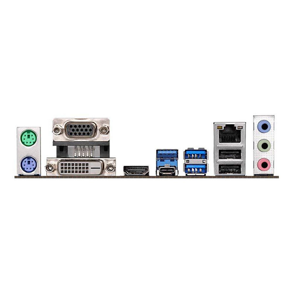 Placa Mãe Intel 1151 Asrock B360M Ddr4 Fatal1ty Performance Vga/Hdmi/Dvi/Usb-C