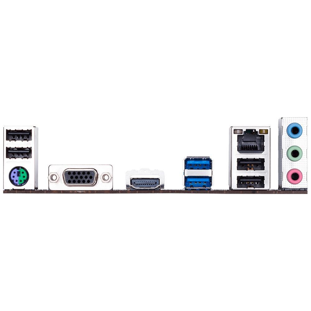 Placa Mãe Intel 1151 Gigabyte H310M H 2.0 Ddr4 Hdmi / Vga