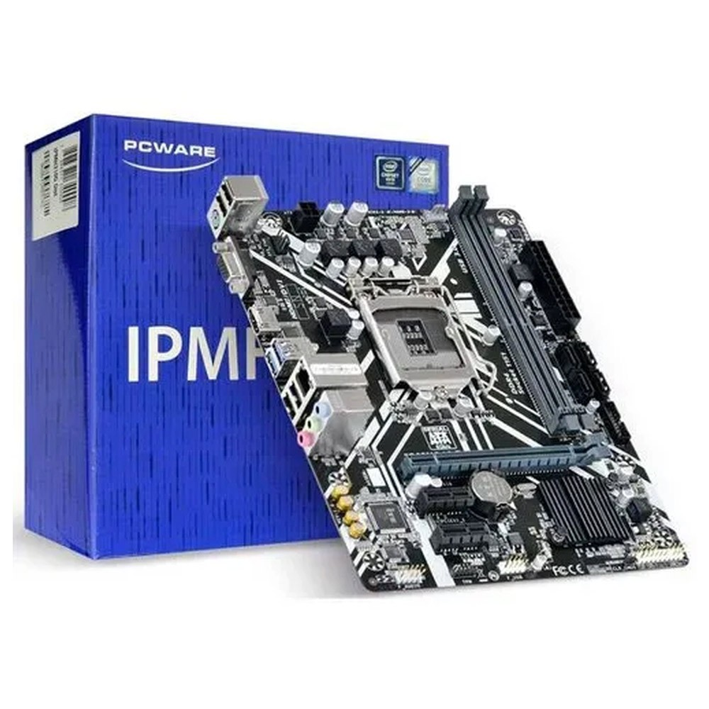 Placa-Mãe IPMH310G Ddr4 mATX Lga 1151 PcWare