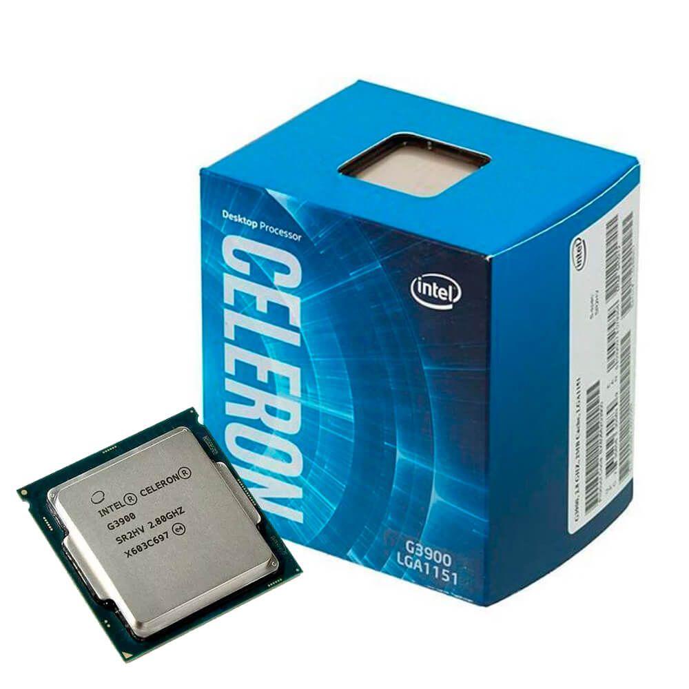 Processador Intel Celeron G3900 2.8GHz Cache 2Mb Lga 1151 OEM