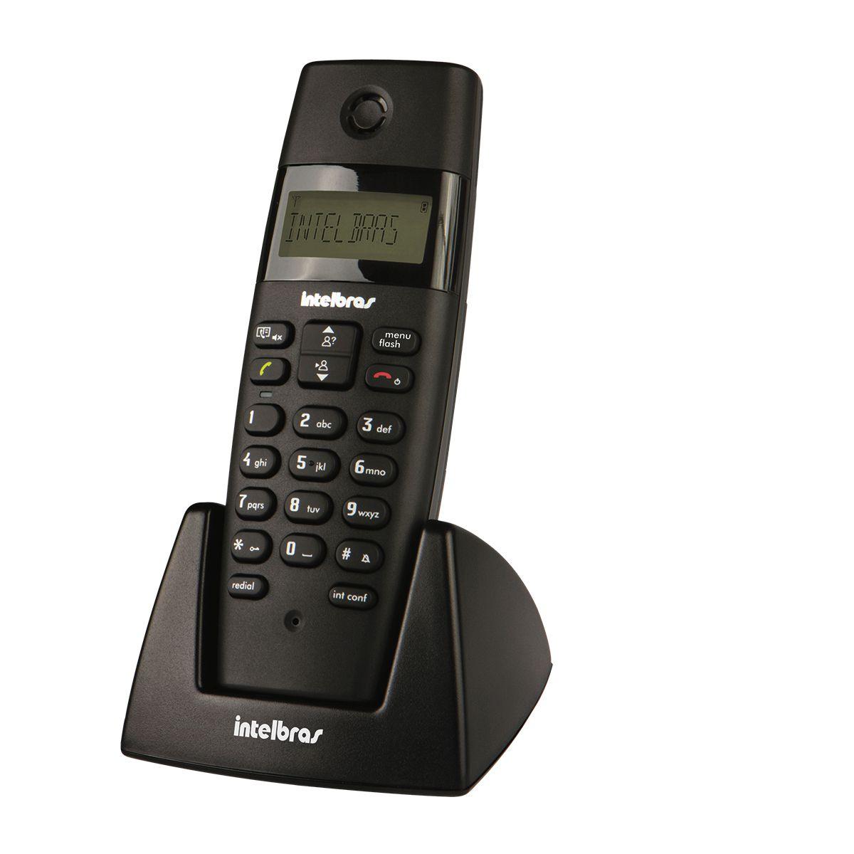 Ramal s/ Fio Digital c / Identificador de Chamadas Intelbras TS40R