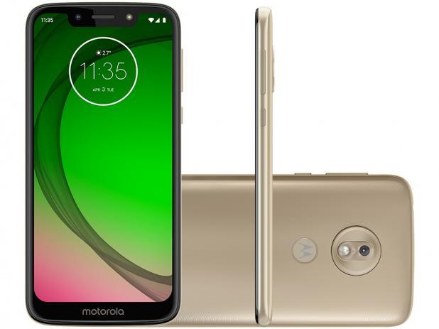 Smartphone Motorola Moto G7 Play 32gb Gold