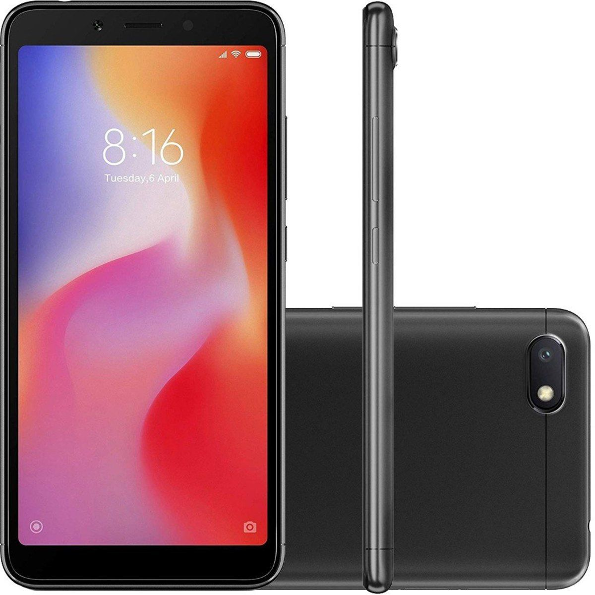 Smartphone Xiaomi Redmi 6A 16gb Preto