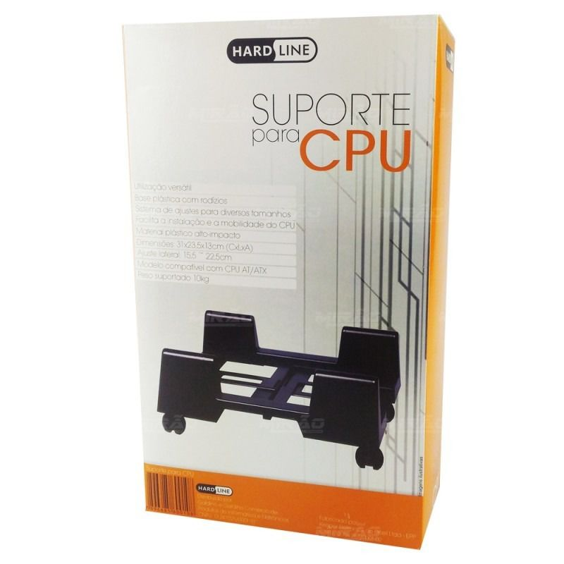 Suporte para CPU com rodas Hardline