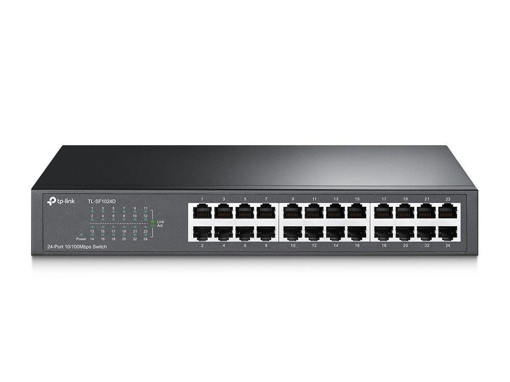 Switch 24 Portas 10/100mbps TP-LINK tl-sf1024d