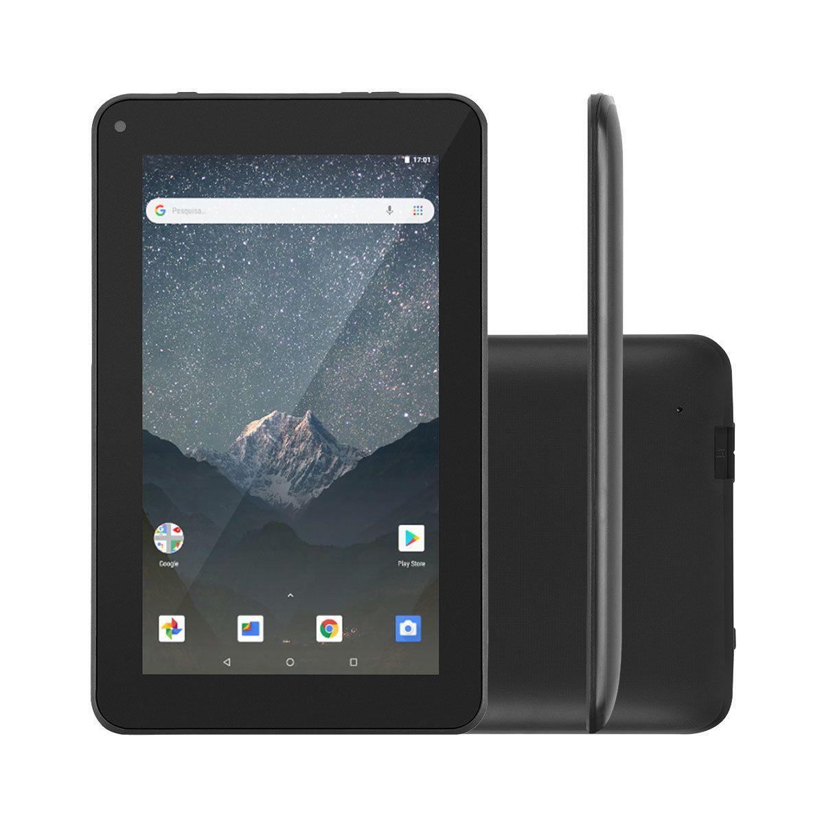 Tablet Multilaser M7S GO 7 QC 16GB 1GB Pto