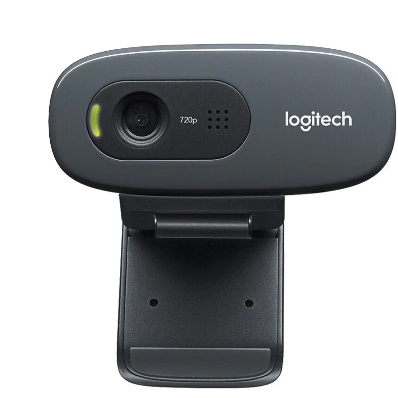 WebCam Logitech C270 HD 720p Usb com microfone