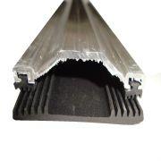 Perfil de Emenda Trapézio Alumínio Com Vedação EPDM - 6mts