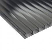 Policarbonato Alveolar Fume Refletiva 10mmx1050mmx6000mm