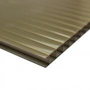 Policarbonato Alveolar Ouro Bronze 10mmx1050mmx6000mm