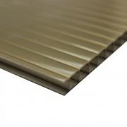 Policarbonato Alveolar Ouro Bronze 6mmx1050mmx6000mm