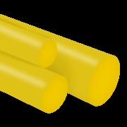 Tarugo Poliuretano Amarelo 70SH A 220X300mm