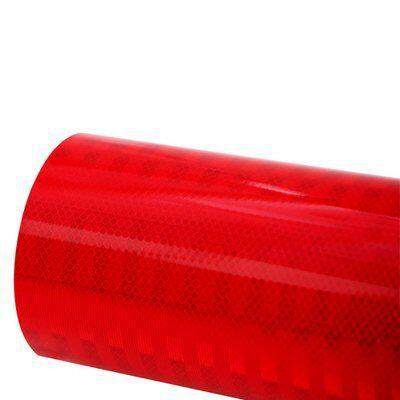 3M Vinil Refletivo Alta Intensidade Prismática 3932 - Vermelho