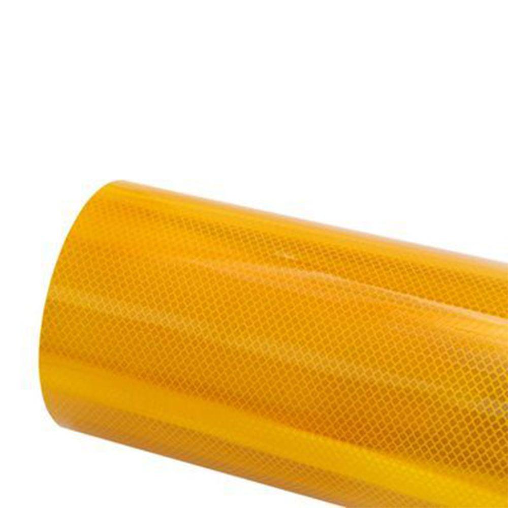 3M Vinil Refletivo Grau Diamante Cúbico 4091 - Amarelo
