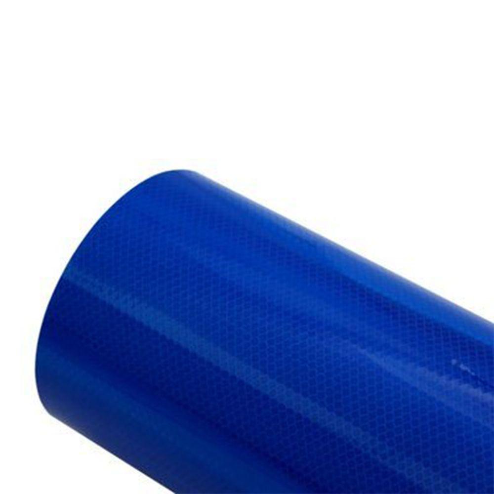 3M Vinil Refletivo Grau Diamante Cúbico 4095 - Azul