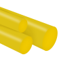 Tarugo Poliuretano Amarelo 70SH A 85X300mm