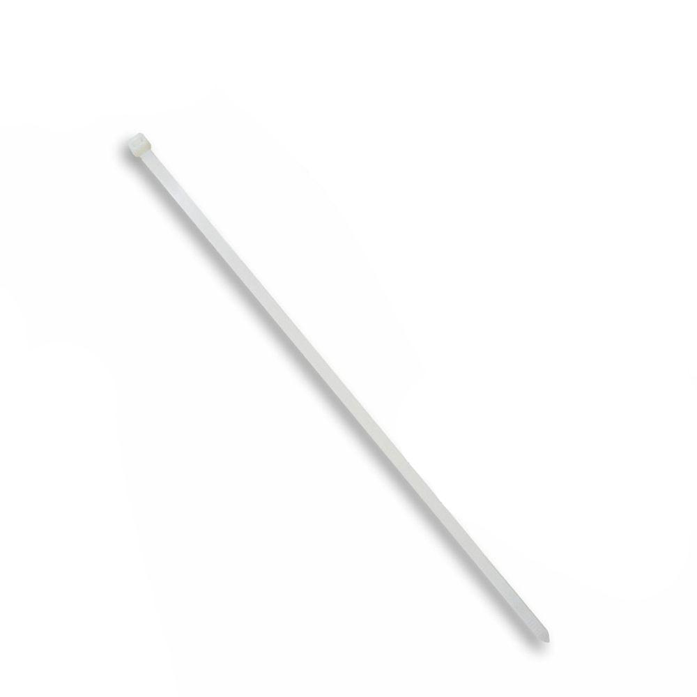 Abraçadeira UV Branco - Pct. 100un (7.5x400)