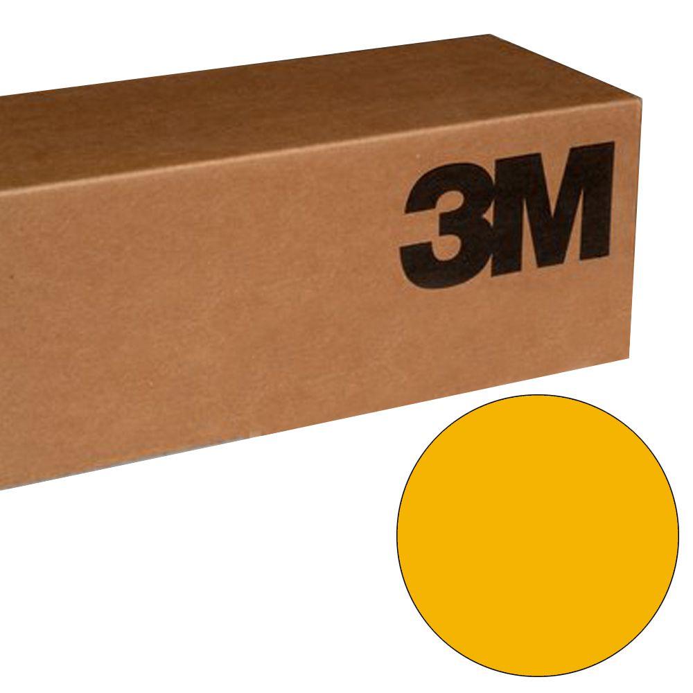 BR6300 Vinil 3M Amarelo Ouro Scotchcal BR6300-45 1,22mtsx50mts